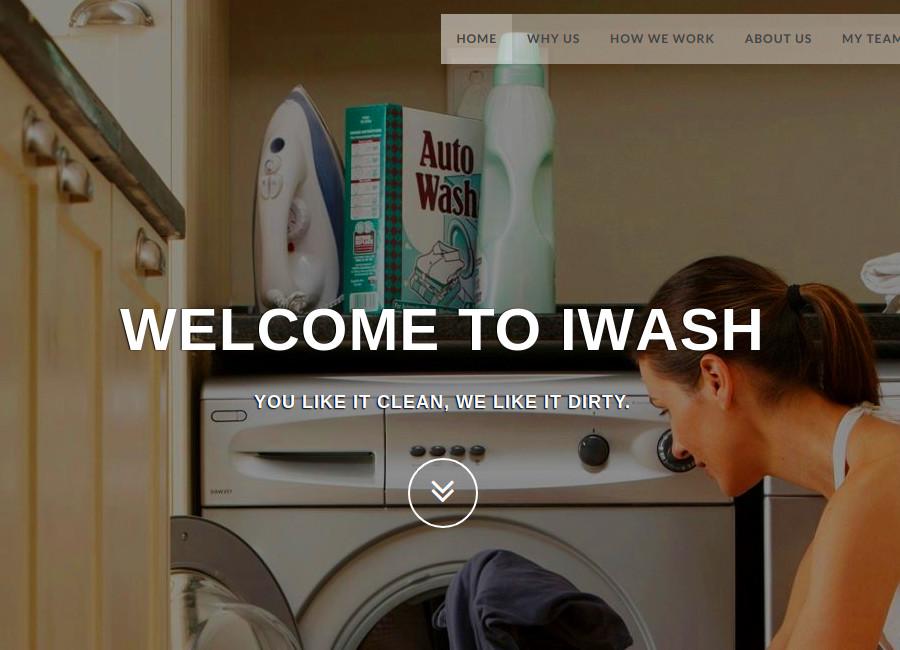 Iwash Laundry Management System